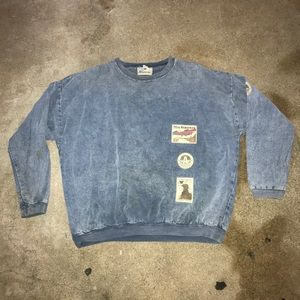 Vintage sweater Aeropostale rare never seen 80s